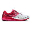 saucony Ride 9 Shoes Women White/Berry/Pink